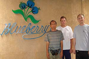 Visiting the Blueberry Workshop in Bali