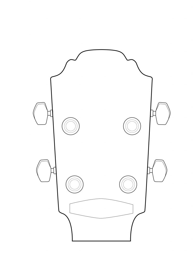 fender headstock template project clueless my experience with a diy